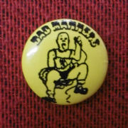 Yellow Bad Manners Badge